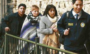 Envían a la cárcel a Arce y Fortún por el caso Zapata