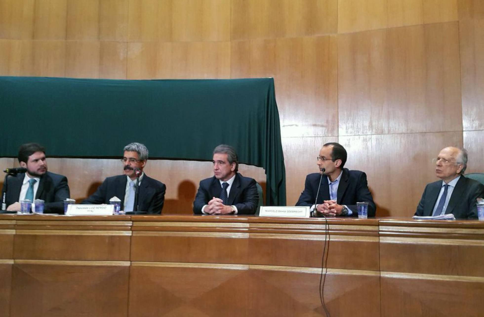 La Comisión Parlamentaria de Investigación del caso Petrobras. LUIZ MEDEIROS