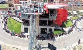 La Línea Roja del teleférico paceño no atenderá esta semana