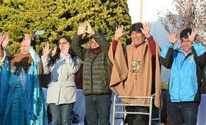 Evo Morales recibe el Año Nuevo Andino Amazónico 5524