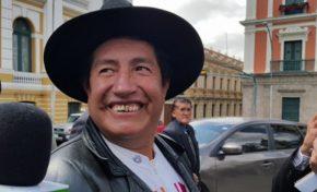 Rafael Quispe destaca que su proyecto político es opción para la embajada de Estados Unidos