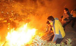 La Alcaldía y Bomberos sofocan 111 incendios y 84 fogatas en San Juan