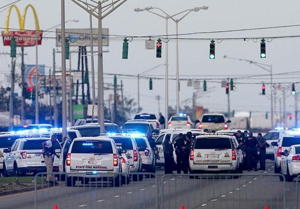 Nuevo tiroteo en EEUU deja 3 policías muertos