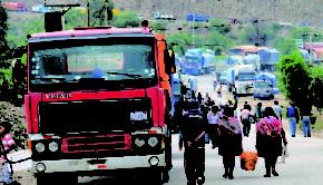Gobierno convoca al transporte pesado a dialogar el 12 de julio