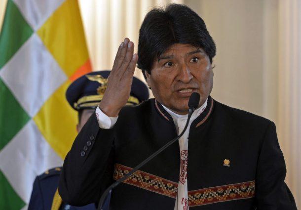 Morales ratifica a todo su gabinete ministerial