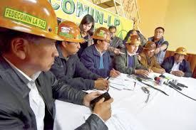Cooperativistas mineros anuncian medidas alternas en rechazo a la Ley 149