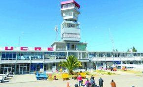 En Sucre: Aeropuerto Juana Azurduy será terminal presidencial