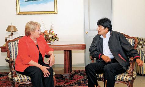 Morales invita a Bachelet y Muñoz a visitar el Silala