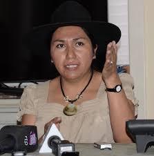 Ministra Paco oficializó denuncia por mensajes discriminatorios