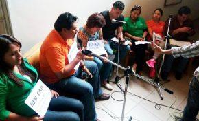 36 días de paro y trabajadores de Red Uno Santa Cruz piden aportes en las calles