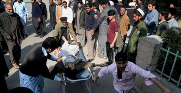 Al menos 23 personas fallecieron hoy tras atentado en Pakistán