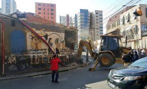 Se demolió el club Katanas