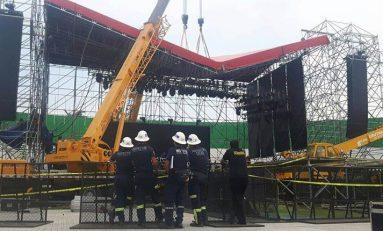 """Se cancela el concierto de Aerosmith por """"colapso"""" del escenario"""