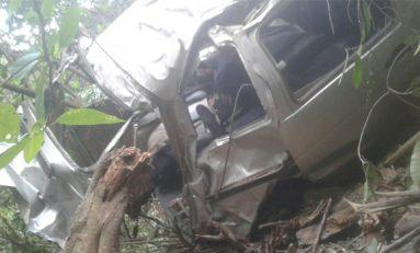 Accidente en La Asunta dejó dos estudiantes muertos