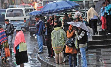 Senamhi declaró alerta naranja por lluvias en cuatro departamento