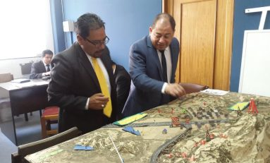 Ministro Carlos Romero llegó a la Fiscalía para declarar por el caso Panduro