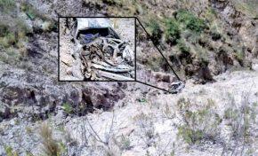 Profesores murieron tras embarrancamiento de motorizado en Potosí