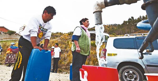 Concejal propone limitar el consumo de agua en toda La Paz para afrontar la escasez