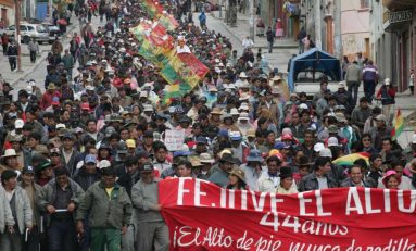 FEJUVE El Alto convoca a marcha en protesta por el agua