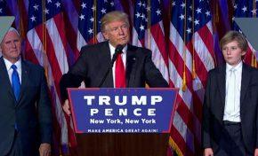Donald Trump será el presidente 45 de los EE.UU.
