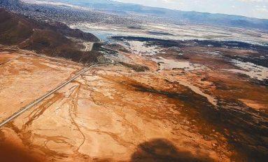 El lago Uru Uru, en el departamento de Oruro, desaparece