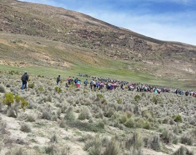 Disputas por control de ojos de agua dejaron al menos seis personas heridas en Potosí