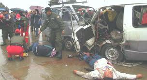 Accidente de tránsito en El Alto deja 2 personas muertas