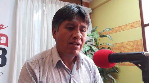 Benecio Quispe manifiesta no ser responsable de la crisis de agua en La Paz