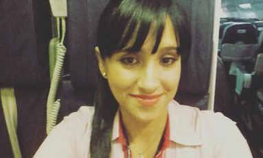 La azafata boliviana Ximena Suárez cuenta que salió a gatas del avión