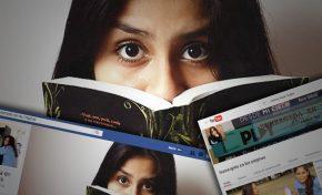 Andrea Nava Cuéllar, una booktuber boliviana