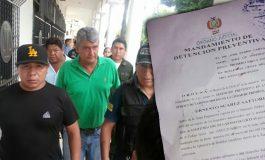 Detención preventiva para Ernesto Suárez
