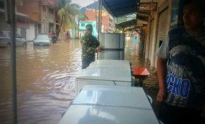La crecida de tres ríos afecta al municipio de Guanay