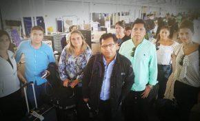 Nueve periodistas bolivianos retenidos en Santiago de Chile