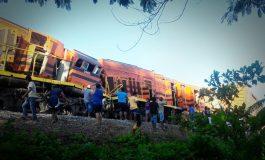 Accidente ferroviario en Puerto Quijarro