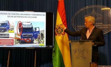 Bolivia pide devolver a los 9 funcionarios aprehendidos en Chile