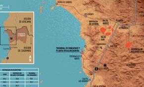Presidenta chilena compra terrenos cerca de un proyecto minero millonario