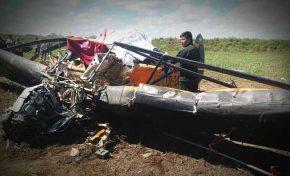 Avioneta cae en el municipio de Cuatro Cañadas, el piloto falleció.