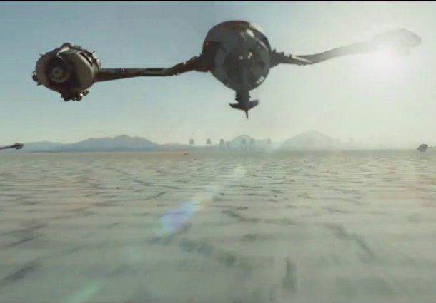 El último Jedi y Star Wars en el Salar de Uyuni