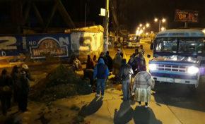 Fejuve La Paz bloquea calles contra de una ley municipal