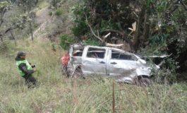 Embarrancamiento deja cinco muertos en la ruta Chicaloma-Villa Trinidad