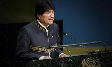 Evo Morales alertó sobre la crisis del agua dulce a nivel mundial