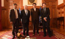Presidente del Tribunal Supremo de Justicia destaca resultados de la reunión realizada con el presidente de la corte suprema de justicia de Chile