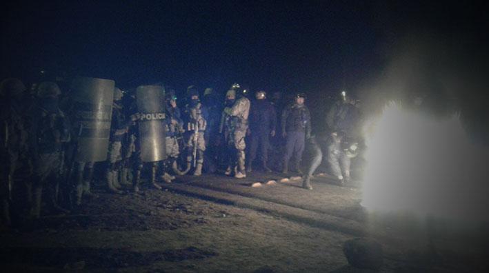 Policía y cocaleros acordaron desbloqueo sólo por anoche