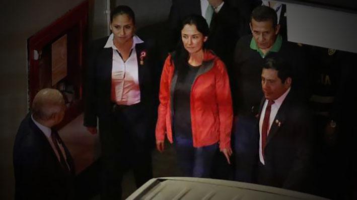 En Perú: Ollanta Humala y esposa entran a calabozo de Palacio de Justicia