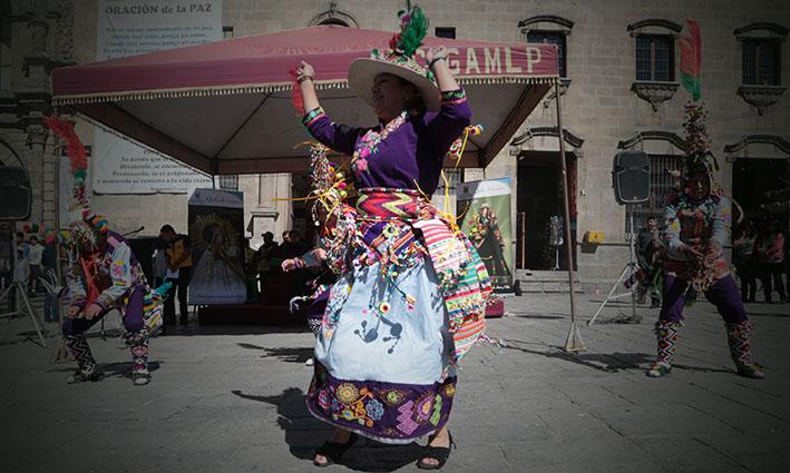 Alcaldía de Quillacollo presenta en La Paz el programa de la fiesta de Urkupiña