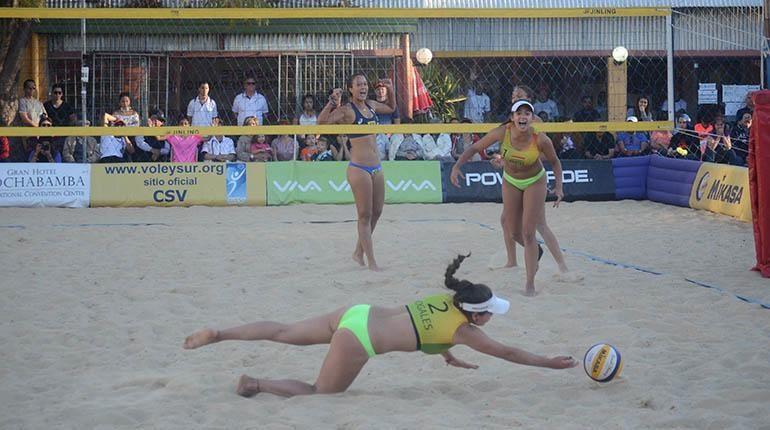 Bolivia logra subcampeonato en voleibol de playa