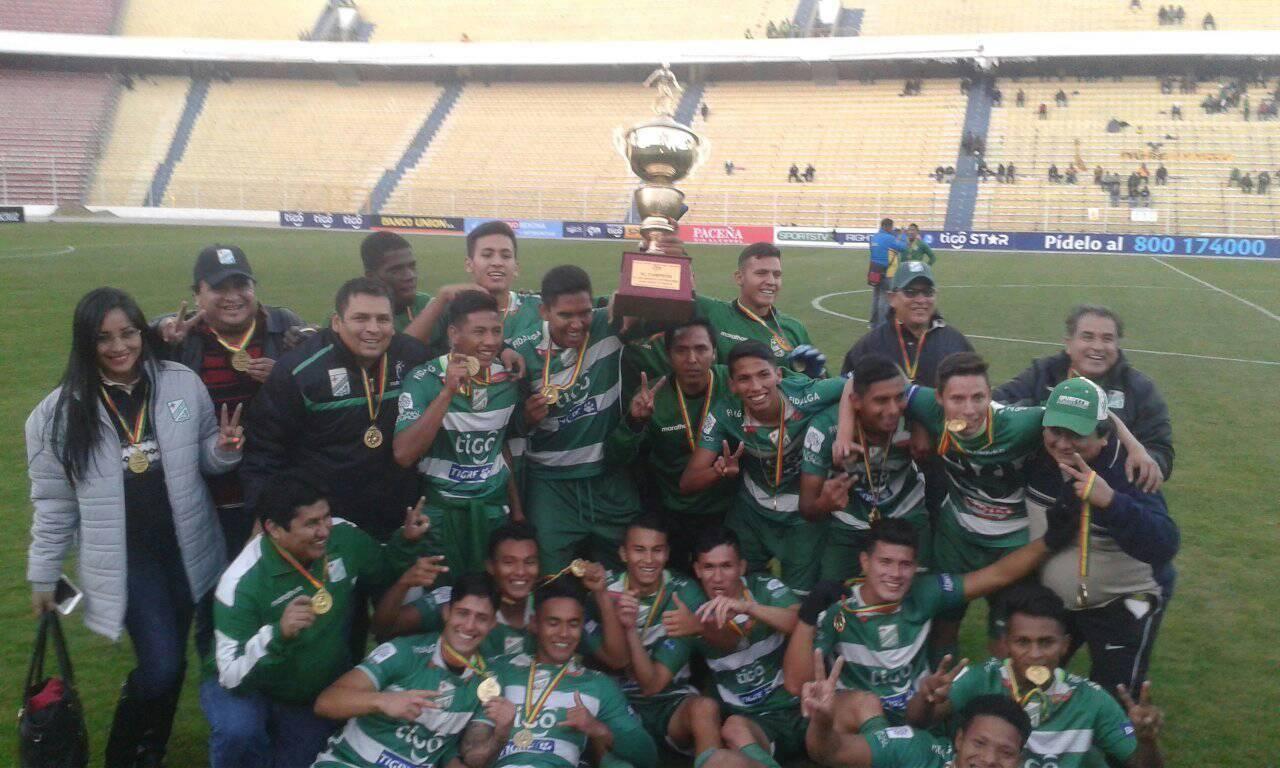 Oriente Petrolero se consagra bicampeón del torneo de Reservas en La Paz