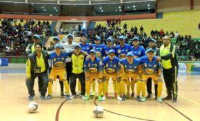Los equipos visitantes se destacan en la octava fecha del Torneo Nacional de Futsal