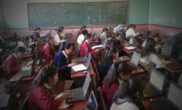 Salvaron examen de olimpiadas científicas prestándose computadoras de profesores en Uncía y Chuquihuta.