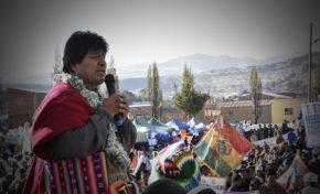 Evo Morales plantea revocatorio en Achacachi y dirigente dice que se fortalece su movilización
